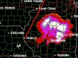 Huge storm (110 miles wide) en route through Illinois for sale